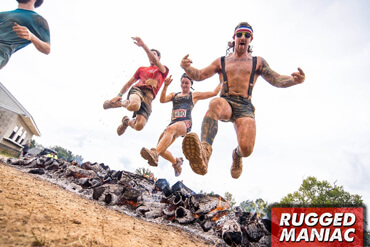RUGGED MANIAC MUD OBSTACLE RUN<br>05/06/17